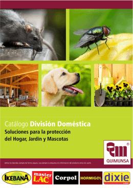 Catálogo División Doméstica