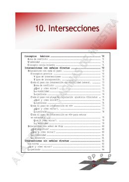 Intersecciones - Autoescuela Reynes