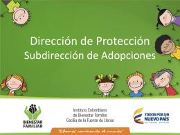 Estadísticas Programa de Adopciones