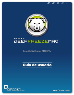 Deep Freeze Mac User Guide