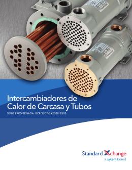 Intercambiadores de Calor de Carcasa y Tubos