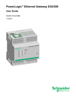 PowerLogic Ethernet Gateway EGX300