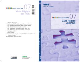 Guía Rápida del PGC Guía Rápida del PGC