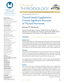 Full Text PDF - American Thyroid Association