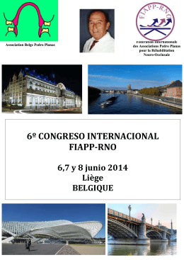 6º CONGRESO INTERNACIONAL FIAPP-RNO