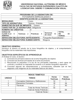0851 08 Fotografía especializada II