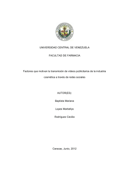 portada externa - Saber UCV - Universidad Central de Venezuela