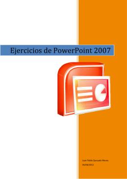 Ejercicios de PowerPoint 2007