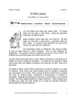 1 El Niño Jesús