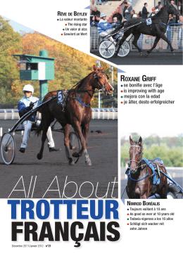 ROXANE GRIFF - Le cheval Français