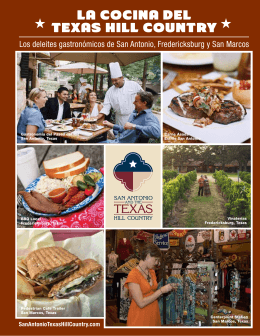 la cocina DEl TExas Hill counTry