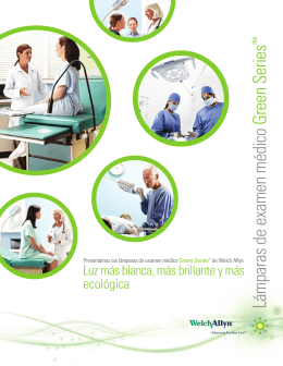 Lámparas de examen médico Green Series