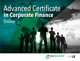 in Corporate Finance