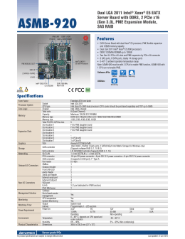 Datasheet - Advantech