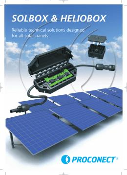 solbox & heliobox - PROEXSA