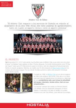 Athletic Club - Pressroom Hostalia