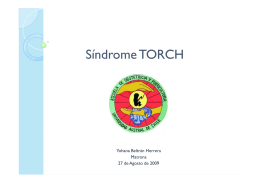 Síndrome TORCH