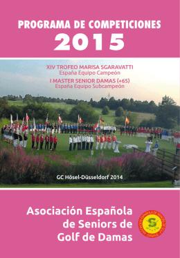 Asociación Española de Seniors de Golf de Damas