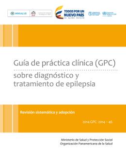 GPC Completa - Guías de Práctica Clínica
