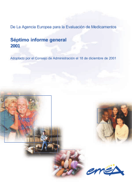 Annual Report 2001 - European Medicines Agency