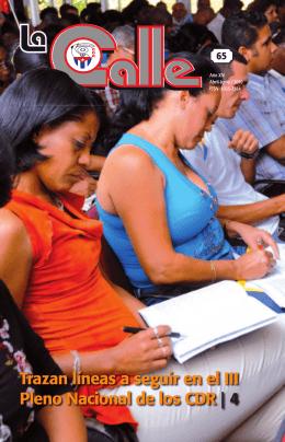 Trazan líneas a seguir en el III Pleno Nacional de los CDR | 4