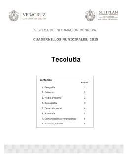 Tecolutla - Gobierno del Estado de Veracruz