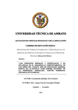 Carátula de Anita - Repositorio Universidad Técnica de Ambato