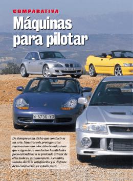 Comparativa BMW Z3 M, Citroën Xsara 2.0i VTS, Honda