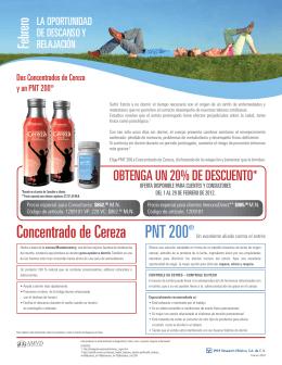 PNT 200® Concentrado de Cereza
