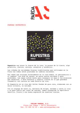 Descargar el PDF de Rupestris