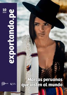 Décimo número de la revista exportando.pe