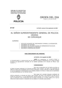 OD 87-02 - Ministerio de Seguridad