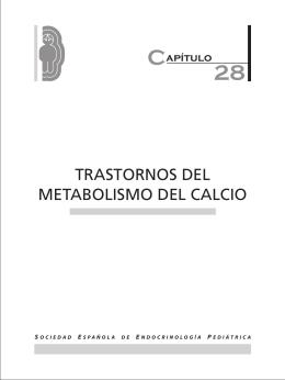 TRASTORNOS DEL METABOLISMO DEL CALCIO