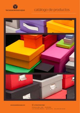 catálogo de productos - La casa de las cajas