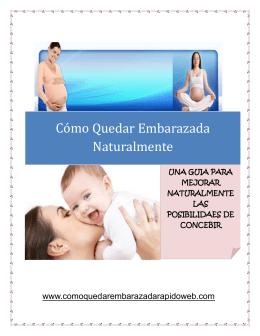Cómo Quedar Embarazada