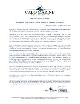 Español - Cabo Marine Show