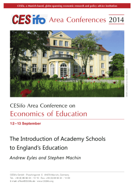 The Introduction of Academy Schools to England`s Education
