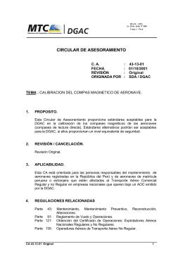 43-13-01 - Ministerio de Transportes y Comunicaciones