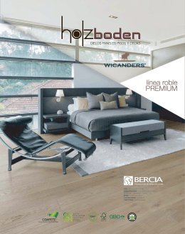 Pisos de Madera Roble Premium Holzboden-Wicanders