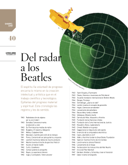 Del radar a los Beatles