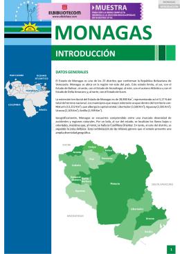 Monagas - Datos Generales - Artículo - PDF