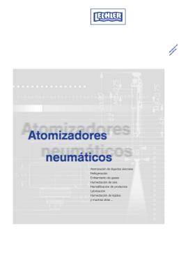 Atomización de líquidos viscosos Refrigeración