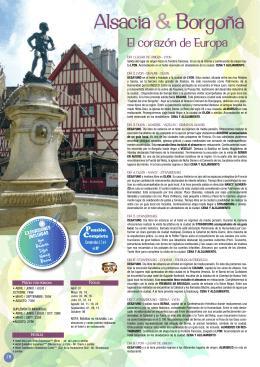 Alsacia & Borgoña
