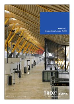 Terminal T-4 Aeropuerto de Barajas, Madrid