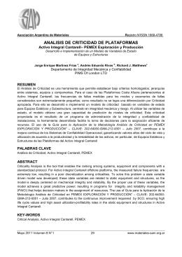 ARTICULO DE ANALISIS DE CRITICIDAD en formato