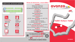 Madrid-Badajoz EXPRES