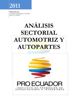 análisis sectorial automotriz y autopartes 2011