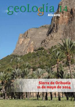Geolodía 2014 - Departamento Ciencias de la Tierra y del Medio
