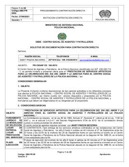 CENTRO SOCIAL DE AGENTES Y PATRULLEROS