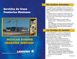 Mexican Border crossing services